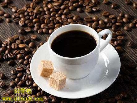 高三喝黑咖啡